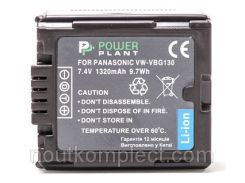 Аккумулятор PowerPlant Panasonic VW-VBG130 Chip 1320mAh