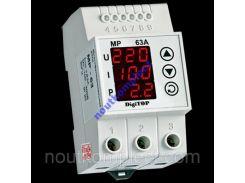 Многофункционал реле MP-63A Din защита от перепада
