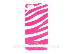 Чехол ARU для iPhone 5/5S/5SE Zebra Stripe Pink