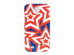 Чехол ARU для Samsung Galaxy S4 Stars Red