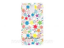 Чехол ARU для Samsung Galaxy Note 3 Pop Star White