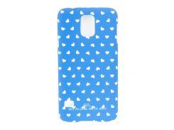 Чехол ARU для Samsung Galaxy S5 Hearts Blue