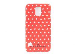 Чехол ARU для Samsung Galaxy S5 Hearts Red