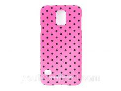 Чехол ARU для Samsung Galaxy S5 Cutie Dots Rose