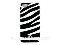 Чехол ARU для iPhone 5/5S/5SE Zebra Stripe Black