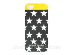Чехол ARU для iPhone 5/5S/5SE Stars Mix & Match Black