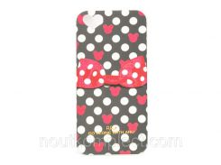 Чехол ARU для iPhone 5/5S/5SE Ribbon Black