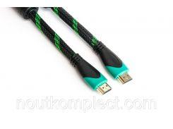 Видео кабель PowerPlant HDMI - HDMI, 5м, позолоченные коннекторы, 2.0V, Double ferrites, Highspeed