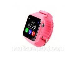 Смарт-часы uWatch V7k Pink