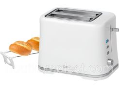 тостер clatronic ta 3554 white-silver