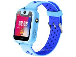 Детские смарт-часы GPS MYOX МХ-01B Blue