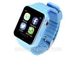 Смарт-часы uWatch V7k Blue