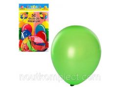 Шарики надувные MK0012, 10 дюймов, микс цветов, 50шт в кульке, 19-28-1см