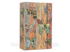 Книга-сейф MK 0791 металл/картон (Бабочки)