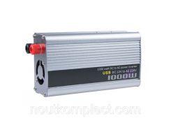 Инвертор автомобильный 12V-220V 1000W TBE Серый (nri-4878)