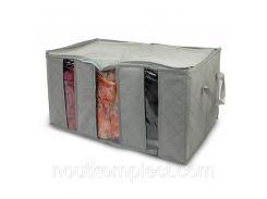 Органайзер для одежды Supretto Home 3 отделения Серый (4468)