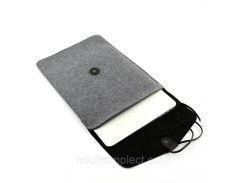 """Чехол для ноутбука Digital Wool Case 13"""" Premium с кожаным клапаном (DW-13-10)"""