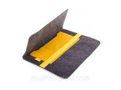 Чехол для ноутбука Digital Wool Case 13 с желтой резинкой (DW-13-01)
