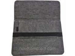 Чехол для ноутбука Digital Wool Case 13 с черной резинкой (DW-13-07)