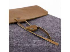 Чехол для ноутбука Digital Wool Case 13 кожаный клапан (DW-13-03)