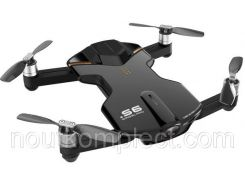 Квадрокоптер Wingsland S6 GPS 4K Pocket Drone Black (6381690)