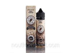 Жидкость для электронных сигарет Real Coffee Фундук с миндалем и карамелью 3 мг 60 мл (1378)