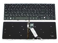 Клавіатура до ACER  V5-571, M3-581, M5-581, V5-531, V5-551 підсвітка