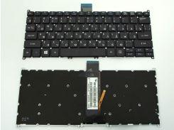 Клавіатура для ACER V5-122P,  V5-132P, V3-371, E3-111, E3-112, V5-121, V5-131 (підсвітка)
