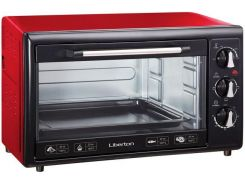 Электродуховка LIBERTON LEO-350 Red