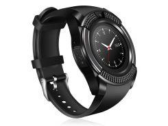 Часы Smart Watch Phone V8 Черные (8807)