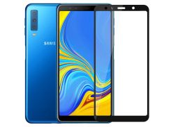 Защитное стекло Zifriend 5D Full Face (full glue) для Samsung A750 Galaxy A7 (2018)