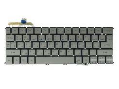 Клавиатура для ноутбука ACER Aspire S7-191 подсветка клавиш, серебристый, без фрейма