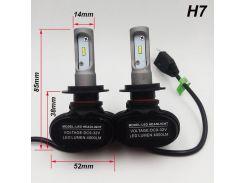 Светодиодные LED лампы для фар автомобиля S1-H7