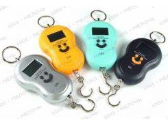 Весы кантер электронный до 40кг с термометром