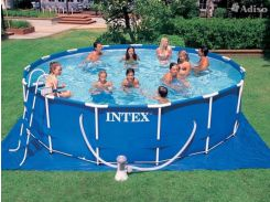 Каркасный бассейн Intex 28236 (28736) 457х122 см. В комплекте насос-фильтр, лестница, тент, подстилк