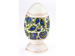 Писанка яйцо - графин штоф, синий декор