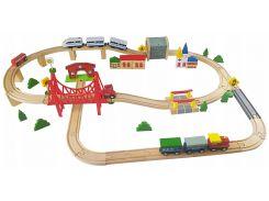 Деревянная железная дорога Kinderplay GS0013