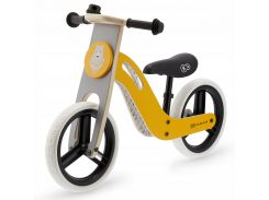 Велобег деревянный Kinderkraft Uniq жёлтый