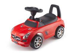 Машинка-каталка Chi Lok Bo Toys MERCEDES SLS AMG с музыкальной панелью (красный)