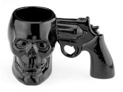 Кружка Череп с пистолетом