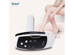 Фотоэпилятор kemei km-6812 для лица и тела со съёмными картриджами