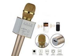 Беспроводной Bluetooth микрофон для караоке Q9 в кейсе
