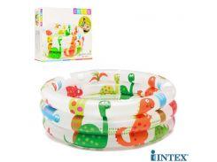Детский надувной бассейн Intex 57106 Динозаврики