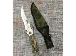 Большой нескладной нож 29см с компасом, фонариком и чехлом Colunbir Н-703