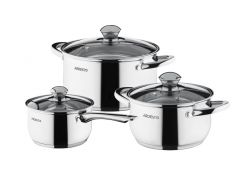Набор посуды Ardesto Gemini Gourmet из 6 предметов (AR1906PS)