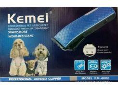 Машинка для стрижки животных Kemei KM-4802