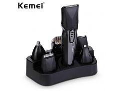 Машинка для стрижки волос Kemei KM-640 8в1