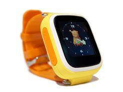 Детские смарт часы Smart Baby Watch Q80 Yellow