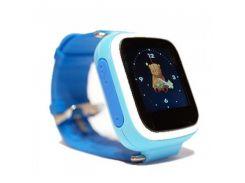 Детские смарт часы Smart Baby Watch Q80 Blue