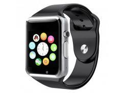 Умные смарт часы Smart watch A1 Черный